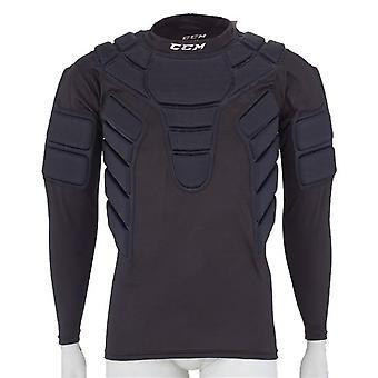 CCM acolchoado sênior de camisa goleiro
