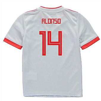 2018-2019 España Away Adidas Mini Kit (Alonso 14)
