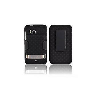 OEM Verizon Extended Shell Holster for HTC Thunderbolt ADR6400 (Black) (Bulk Packaging)