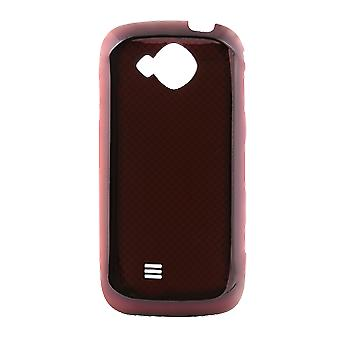 OEM Samsung Reality U820 Standard Battery Door / Cover - Red