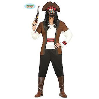 Piratas de lo siete mares sailor marinero traje hombre traje de pirata