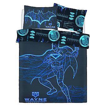 Batman Wayne Industries Double Duvet Cover Set