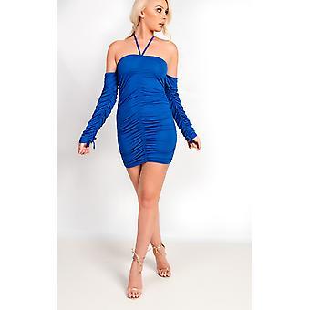 فستان ايبونى بوديكون قلادة آيسلا النسائي إيكروش