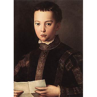 דיוקנו של פרנצ'סקו כאיש צעיר, אגנולו ברונטה, 60x40 ס מ