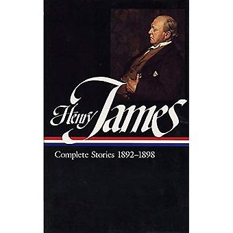 James: Complete Stories 1892-1898: Volume I (Library of America)