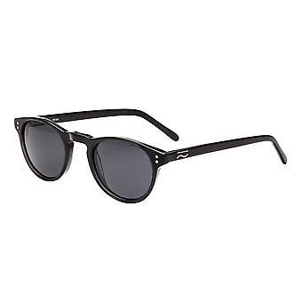 Simplify Russell Polarized Sunglasses - Black/Black