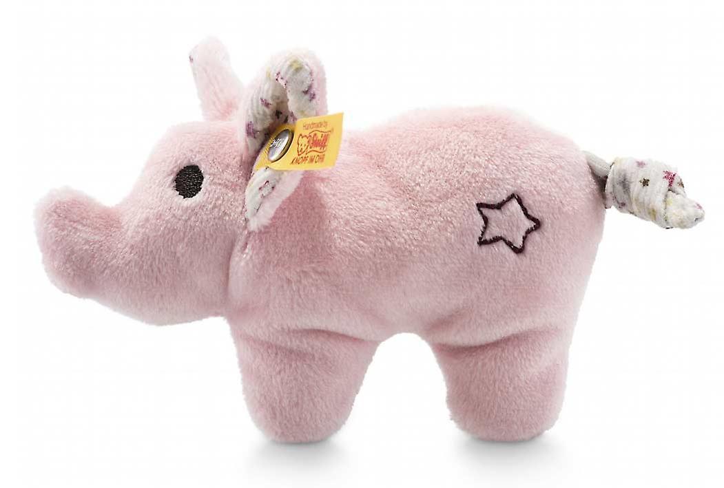 Steiff mini varken rammelaar 11  cm
