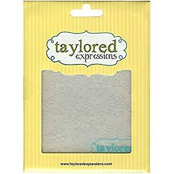 Taylored Expressions Winter Flurry Embossing Folder