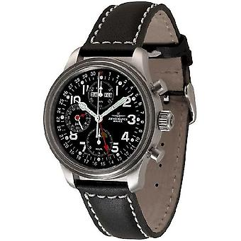 Zeno-watch montre Chrono pilote de NC 9557VKL-a1