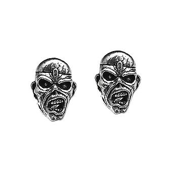 Alchemy Rocks Iron Maiden Eddie Head Ear Studs