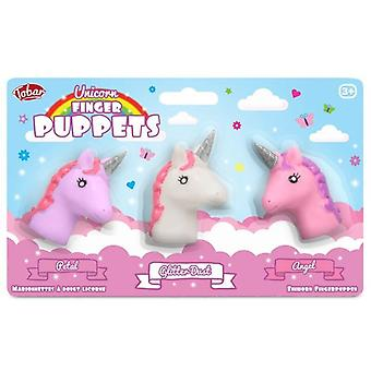 Unicorn Finger Puppet Set