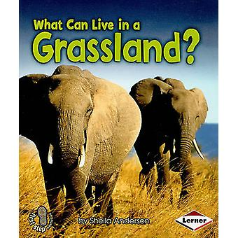 What Can Live in a Grassland? by Sheila Anderson - 9780761356783 Book