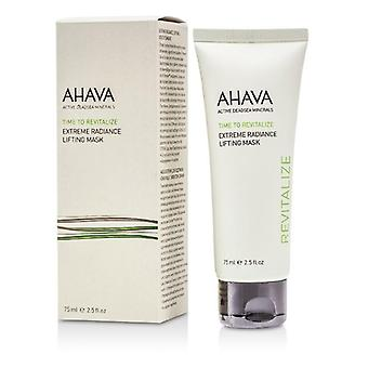 Ahava Time To Revitalize Extreme Radiance Lifting Mask - 75ml/2.5oz
