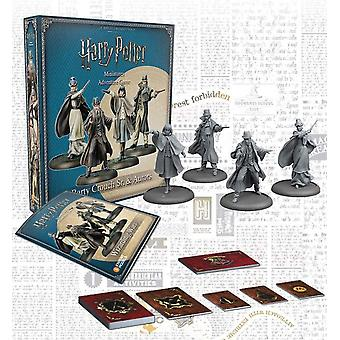 Barty Crouch Sr & Aurors Exp Harry Potter Miniatures Adventure Game (HPM)