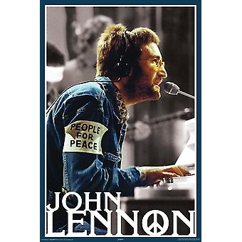 Poster - Lennon People for Peace - Wall Art Licensed Gifts Toys 24976