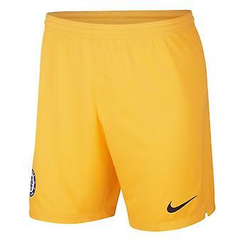2019-2020 Chelsea Home Nike Goalkeeper Shorts (Gold)