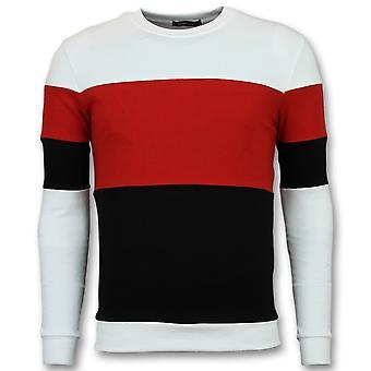 Sweater - Online Stripe Sweaters - Red