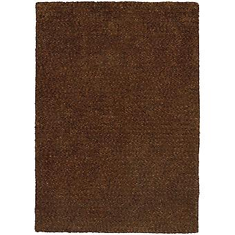 Heavenly 73404 brown indoor area rug rectangle 6'6