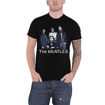 The Beatles T Shirt Tittenhurst Table Band Logo new Official Mens Black