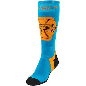 Spyder boys EDGE winter ski stocking ski socks sky blue