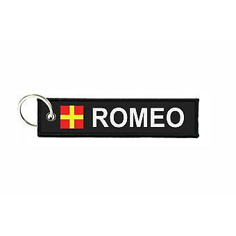 Door cles plunges flag code signals signal maritime alphabet R ROMEO