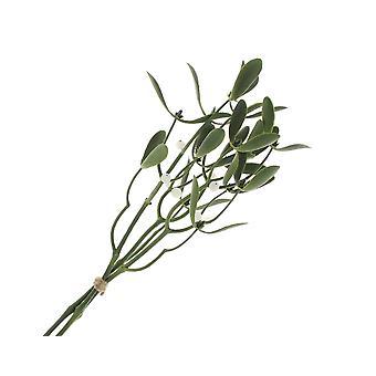 36cm kunstige misteltein Picks for Christmas blomsterhandler-3 Pack
