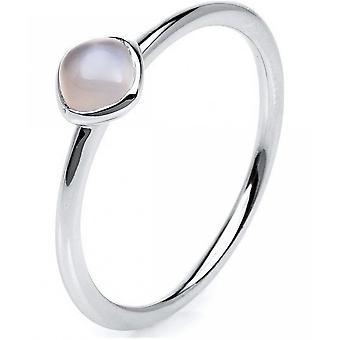 الأحجار الكريمة خاتم القمر 0.48 ct. مقاس 56