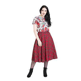 Hell Bunny Irvine 50's Skirt
