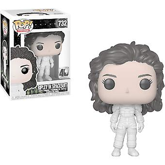 Funko - POP! Movies Alien 40th Anniversary Ripley in Spacesuit Figure Toy