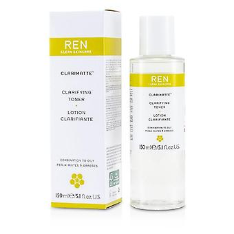 Ren Clarifying Toning Lotion For Combination To Oily Skin - 150ml/5.1oz