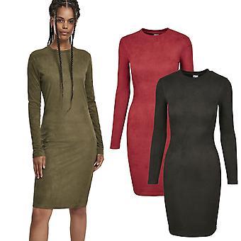 Urban Classics Ladies - Peached RIB Dress