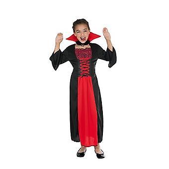 Bat vampire Lady child costume
