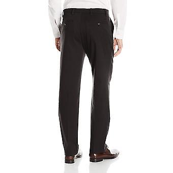 Dockers Men's Classic Fit Easy Khaki Pants D3, Black (Stretch), 33 32