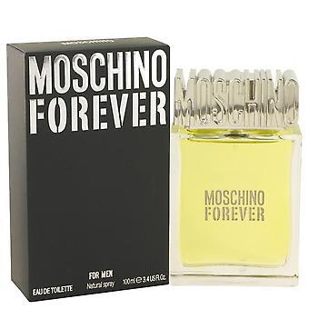 Moschino voor altijd eau de toilette spray door moschino 490683 100 ml
