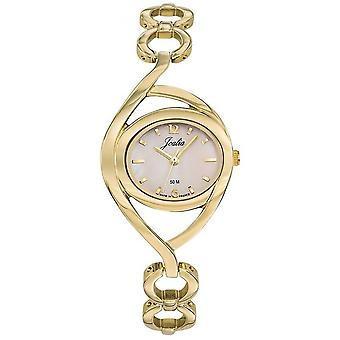 Horloge Certus 630528-JOALIA Bo tier staal dor vrouwen dor stalen armband