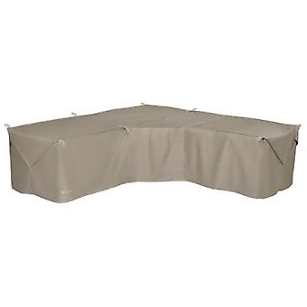 Accessoires classiques Storigami Easy Fold V-Shaped Sectional Cover, Goat Tan
