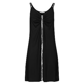 Féraud 3205059-10995 Women's Black Beach Dress