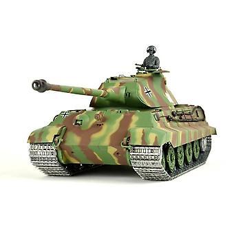 RC tank tysk King Tiger 1:16 Heng lang, røg & amp; Lyd, 2,4 GHz-PRO MODEL