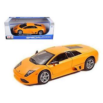 Lamborghini Murcielago LP640 Orange 1/18 Diecast Model Car 2007 par Maisto