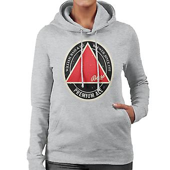 Bass Red Triangle Label Women's Hooded Sweatshirt