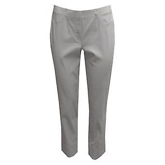 ROBELL Robell Light Grey Trouser Bella 51568 5499 920