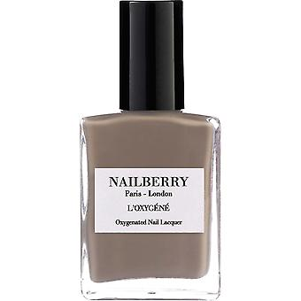 NailBerry Oxygenated Nail Lacquer - Mindful Grey 15ml