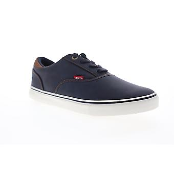 Levis Ethan Perf Wax UL NB  Mens Blue Synthetic Low Top Sneakers Shoes