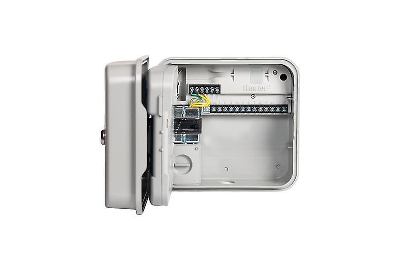 Hunter PCC 1201 12-Station outdoor controller, Internal 230 VAC transformer, plastic