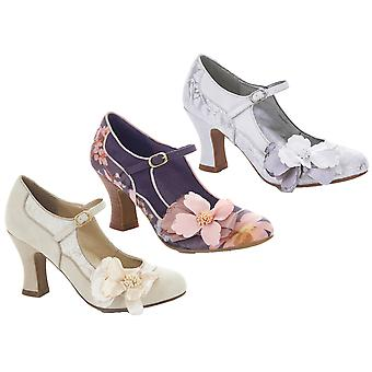 Ruby Shoo Women's Brocade Madelaine Mary Jane Pumps