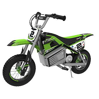 Razor SX350 McGrath Electric 24V Dirt Bike Green Ages 13 Years+