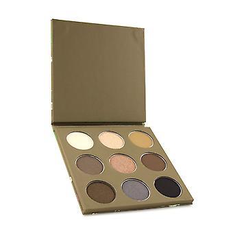 Eyeshadow palette (9x eyeshadow) - # coffee 9x1.7g/0.058oz