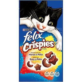 Felix Crispies Treats Beef And Chicken (Cats , Treats , Biscuits)