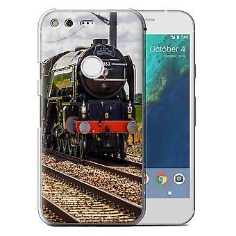 STUFF4 Case/Cover für Google Pixel XL (5.5'')/Tornado/Steam Locomotive