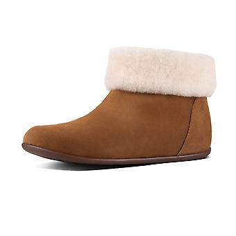 FitFlop Sarah™ Shearling Slipper Booties In Tan